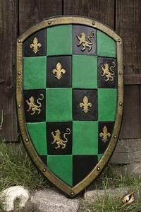 Bilde av Checkrered Shield Green - 80x50cm