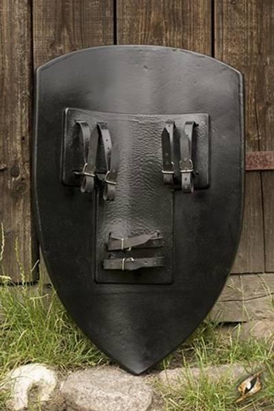 Checkrered Shield Green - 80x50cm