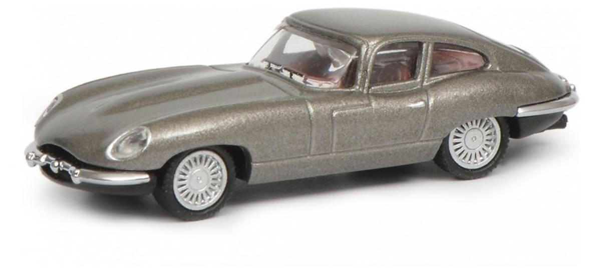 Schuco - Jaguar E-type, sølv