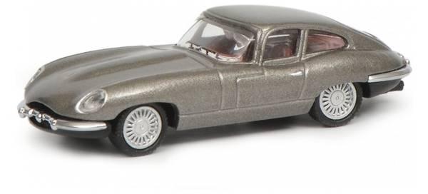 Bilde av Schuco - Jaguar E-type, sølv
