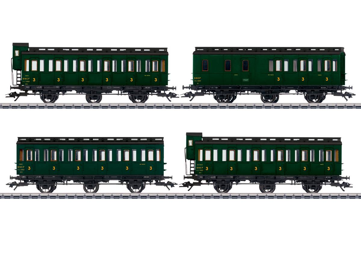 Märklin - SNCF personvognsett for Typ 130