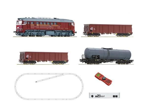 Bilde av Roco - Digitalt startsett, z21 DB E140 m godstog