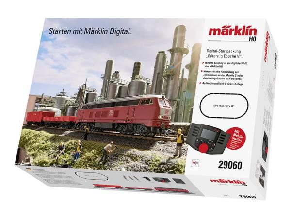 Bilde av Märklin - Digitalt startsett, Mobile Station, Br216 m godstog