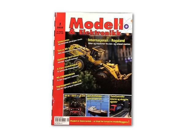 Bilde av Modell & Elektronikk nr. 1 - 2020