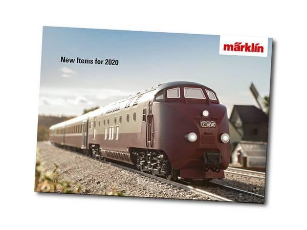 Bilde av Märklin nyhetskatalog 2020