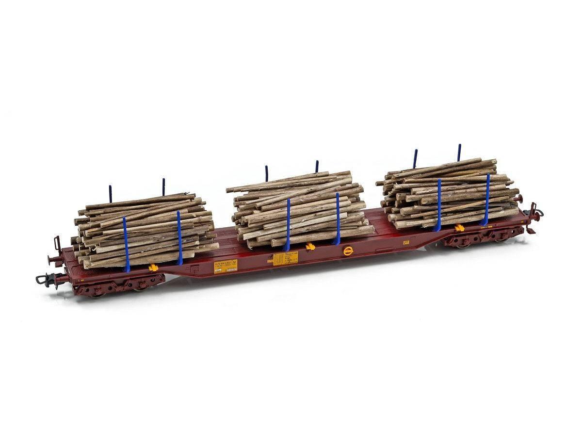 NMJ Topline Three T tømmervogn Sgs 33 74 454 0 202-3, m tømmer