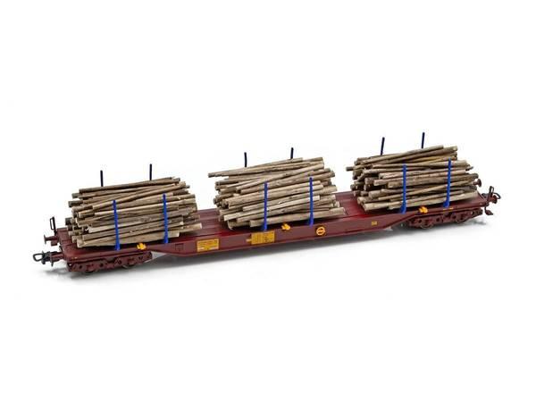 Bilde av NMJ Topline Three T tømmervogn Sgs 33 74 454 0 202-3, m tømmer