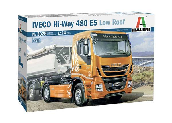 Bilde av Italeri - 1/24 Iveco Hi-Way 480 E5