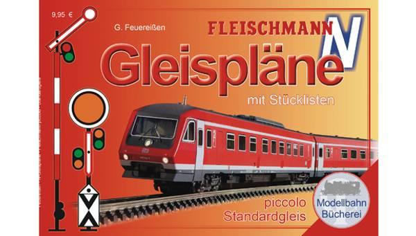 Bilde av Fleischmann N-skala - Sporplansbok