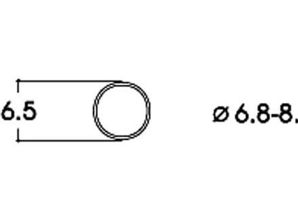 Bilde av Roco - Gummiringer for lokhjul, 6.8 - 8.2mm
