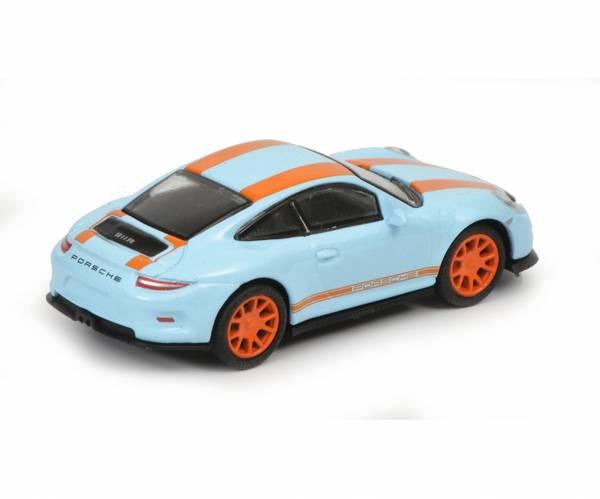 Bilde av Porsche 911R, blå/oransje