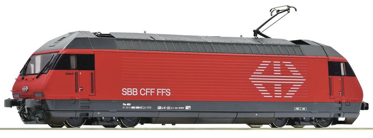 Roco - SBB Re460, digitalt med lyd