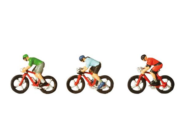 Bilde av Noch N-skala - Syklister