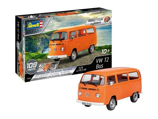 Bilde av Revell - 1/24 VW T2 buss