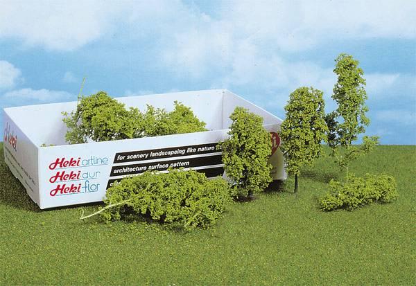 Bilde av Heki - Løvtrær og busker, lys grønn