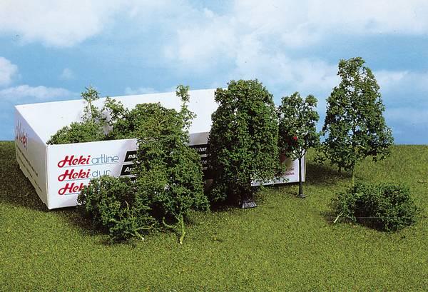 Bilde av Heki - Løvtrær og busker, mørk grønn