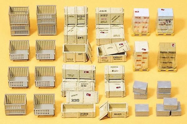 Bilde av Preiser - Paller, kasser etc.