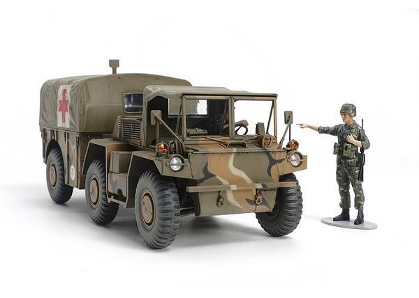 Bilde av Tamiya - 1/35 US 6x6 M792 Gamma Goat - Ambulance Truck