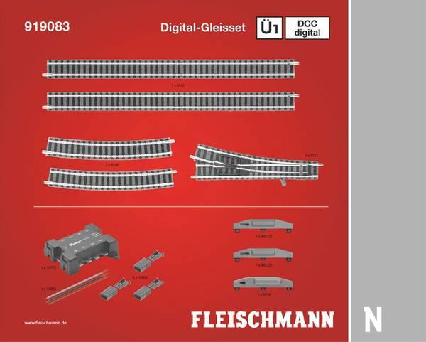 Bilde av Fleischmann N-skala - Skinnesett Ü1, digitalt