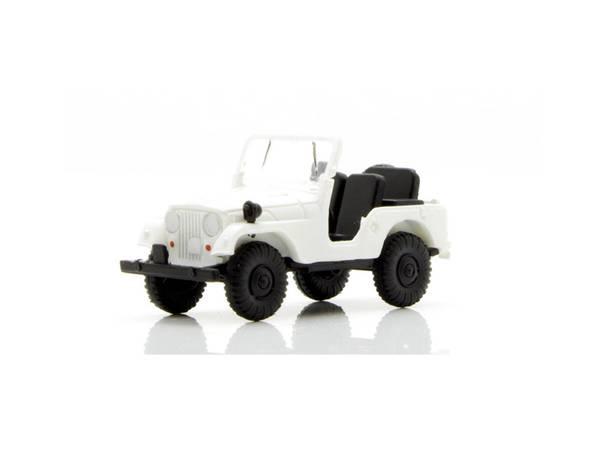 Bilde av Brekina - Jeep, hvit