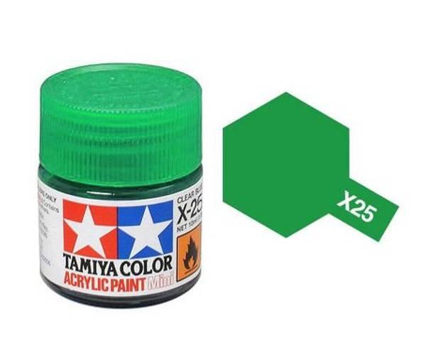 Bilde av Tamiya X-25 Clear Green