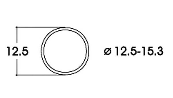 Bilde av Roco -  AC, Gummiringer for lokhjul, 12.5 - 15.3mm