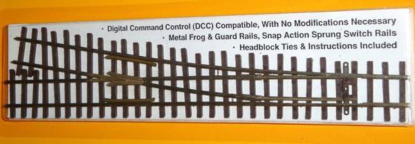 Bilde av Micro Engineering - H0n3 sporveksel, høyre