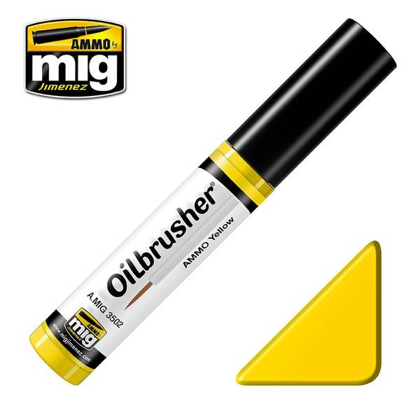 Bilde av MIG - Oilbrusher, Yellow