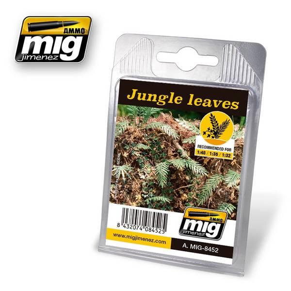 Bilde av MIG - Leaves, Jungle Leaves