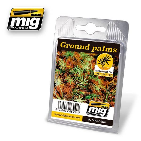 Bilde av MIG - Leaves, Ground Palms