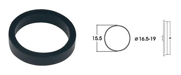 Bilde av Roco - Gummiringer for lokhjul, 16.5 - 19mm