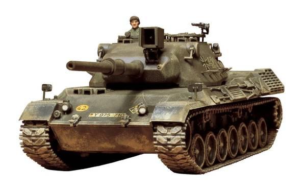 Bilde av Tamiya - 1/35 Leopard tank