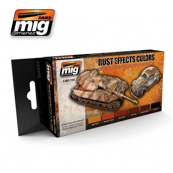 Bilde av MIG - Set, Rust Effects Colors