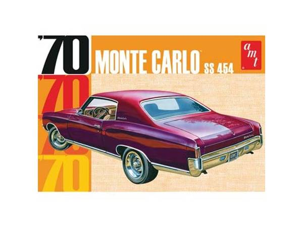 Bilde av AMT - 1/25 Chevrolet Monte Carlo 1970