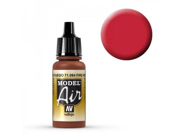 Bilde av Vallejo - Model Air, Fire Red