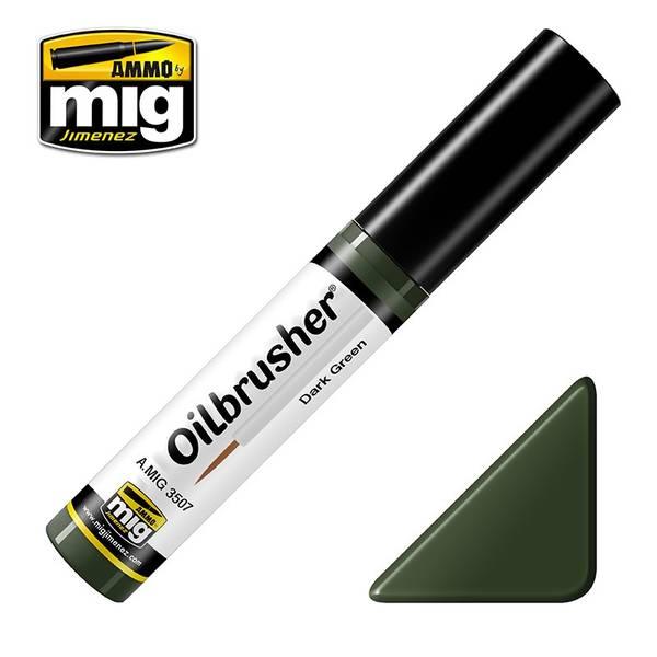 Bilde av MIG - Oilbrusher, Dark Green