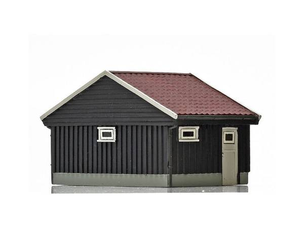 Bilde av NMJ Skyline norsk garasje, brun, ferdigmodell