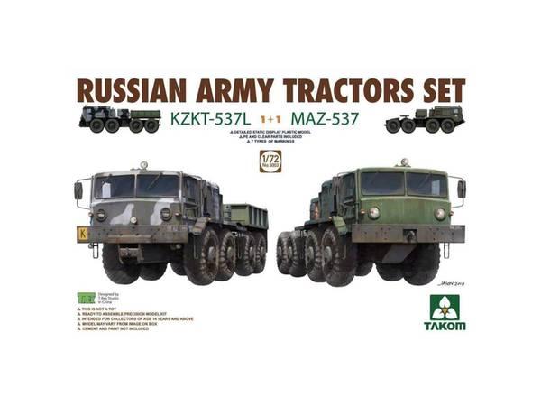 Bilde av Takom - 1/72 Russian Army tractors, 2 stk.