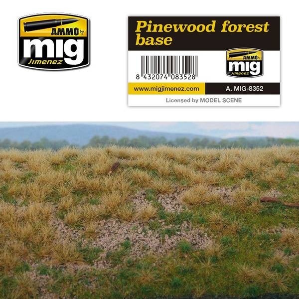 Bilde av MIG - Gressmatte, forest base – pinewood