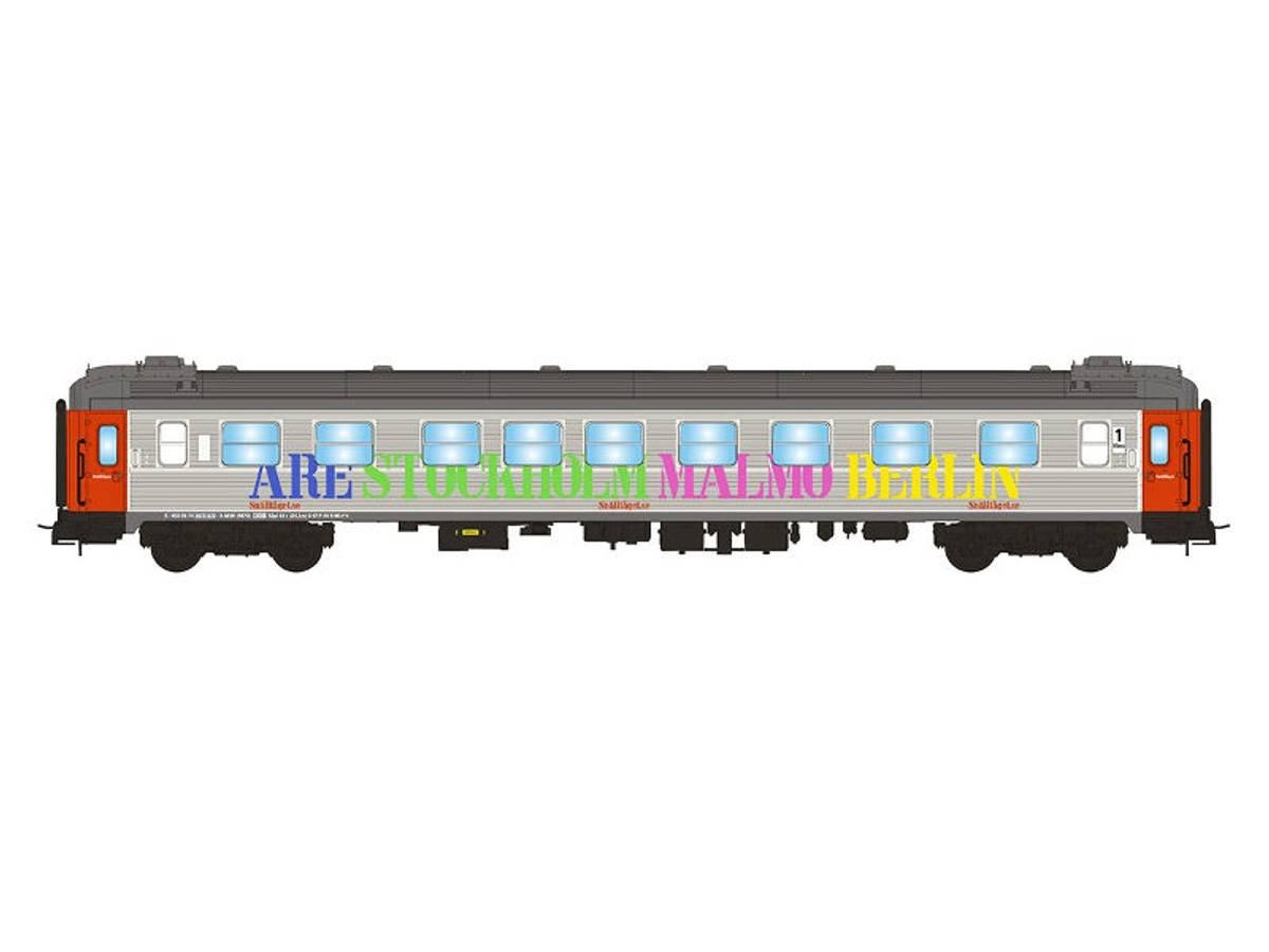 NMJ Topline Snälltåget AB3K 4870, 1./2.klasse personvogn