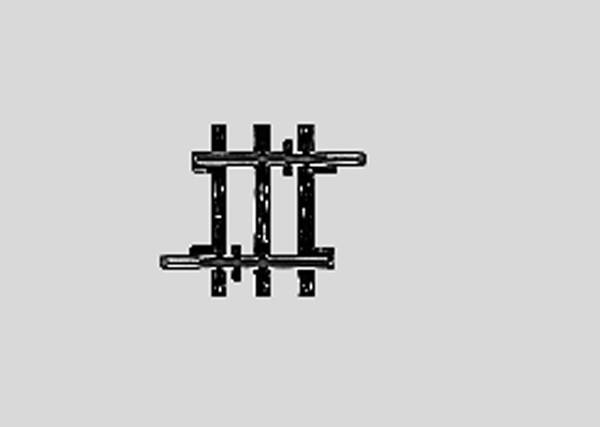 Bilde av Märklin - Rett skinne, 22.5mm