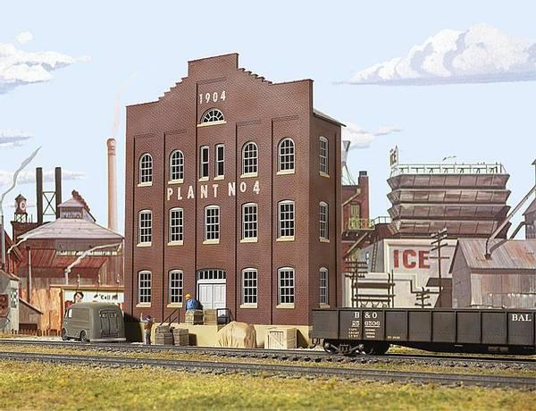 Bilde av Walthers - Plant #4 Building front, fasadebygning