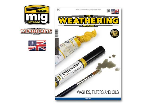 Bilde av The Weathering Magazine - Washes, filters and oils