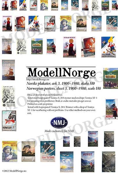Bilde av Norske plakater #3