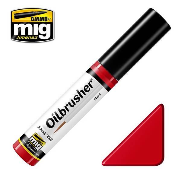 Bilde av MIG - Oilbrusher, Red