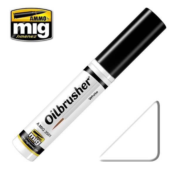 Bilde av MIG - Oilbrusher, White