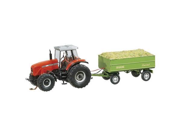 Bilde av Faller Car System - MF traktor med henger