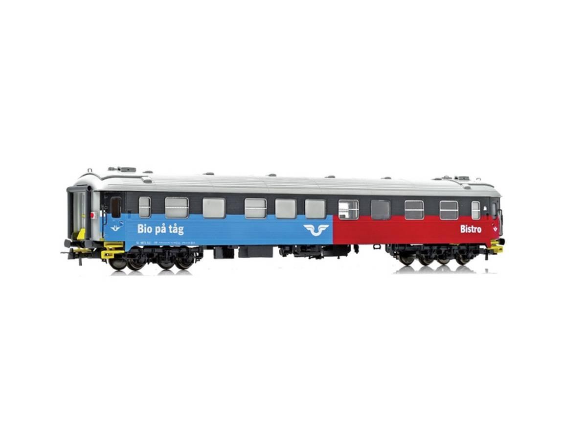 NMJ Topline SJ S11 4871 Kino og Bistrovogn, Rød/Blå/Sort