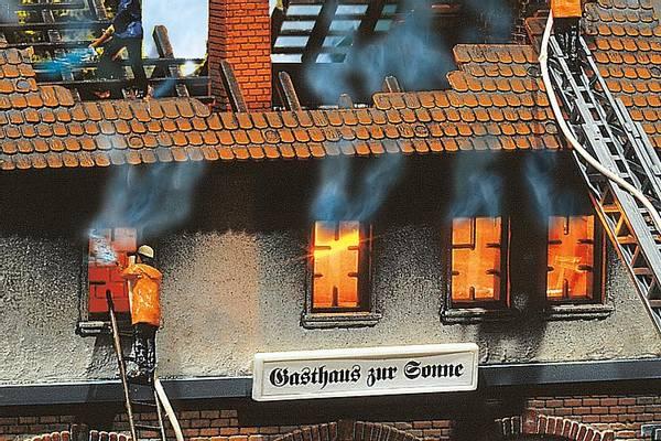 Bilde av Faller - Lyseffekt, brann
