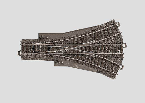 Bilde av Märklin - Sporveksel, treveis